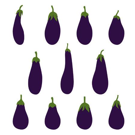 Eggplant - vector illustration