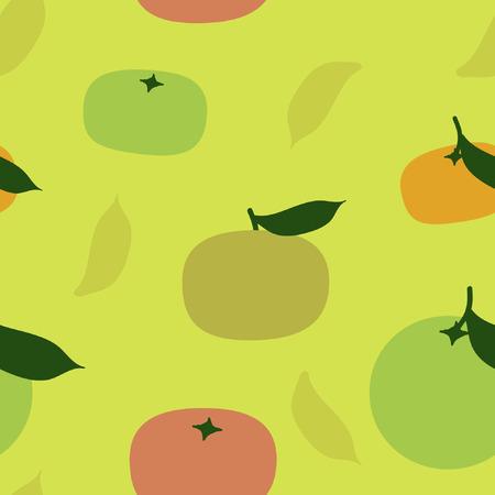 Orange and tangerine - vector background Stock Vector - 110253138