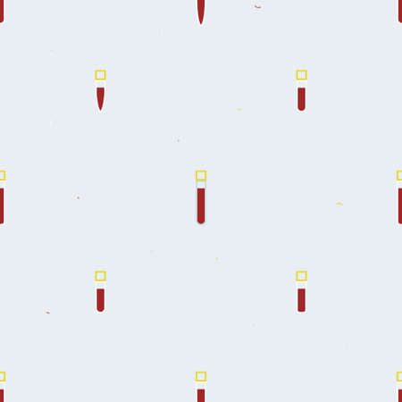 Testing tubes with blood - vector background Ilustrace