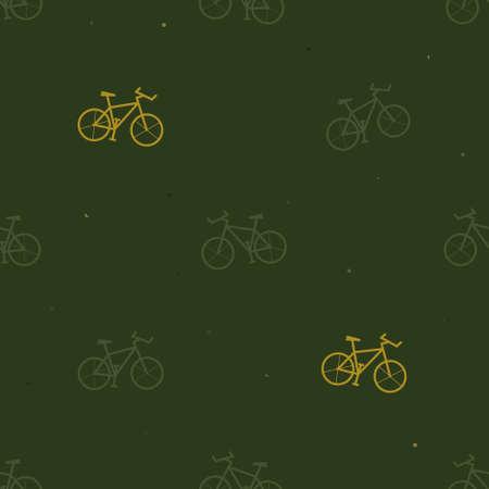 Mountain bike silhouette background - vector background 일러스트