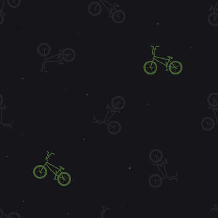Freestyle bike silhouette background - vector background