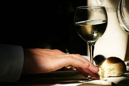 relishing: tasting for a wedding ceremony