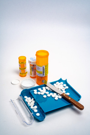 Prescription medication Pill Sorting, Counting and Filling Order