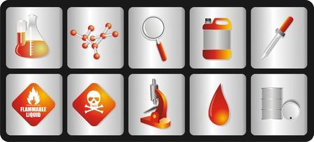 toxic barrels: los iconos de los distintos equipos y las condiciones qu�micas