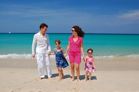 Family beach vacation Stock Photo - 9680075