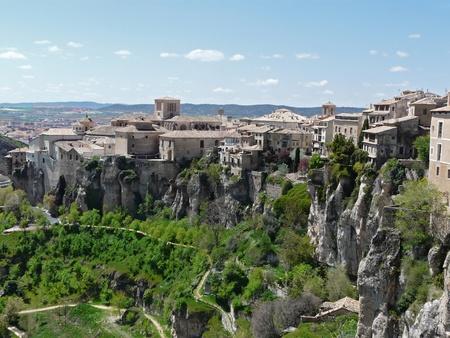 cuenca: Hanging houses of Cuenca, Spain