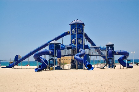 Beach playground for children Stock Photo - 12600642