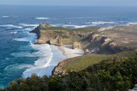cape of good hope: Beautiful view of Cape of Good hope and ocean, South Africa