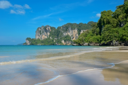 railay: Beautiful Railay beach, Krabi, Thailand