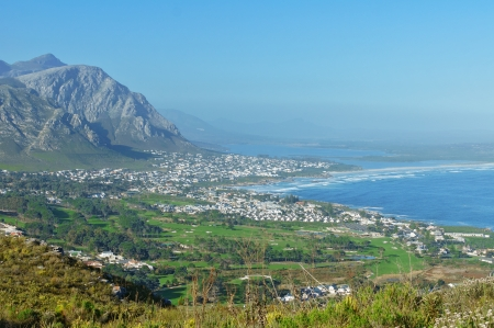 Beautiful view of Hermanus, South Africa Stock fotó