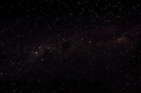 Hvězdy a galaxie pozadí oblohy Reklamní fotografie