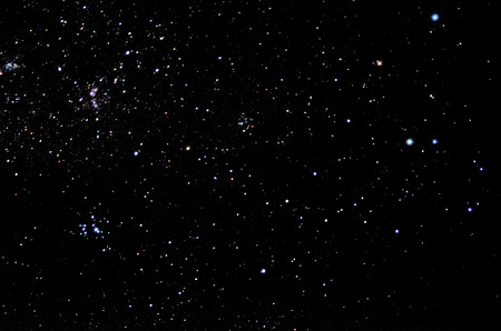 Toiles et le ciel de fond galaxie Banque d'images - 30656698
