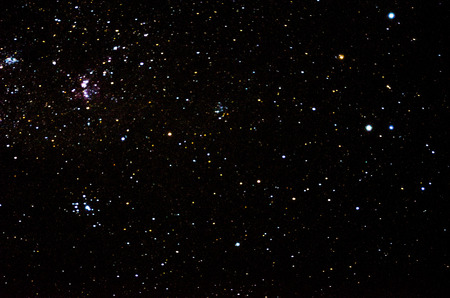 Stars and galaxy space sky background