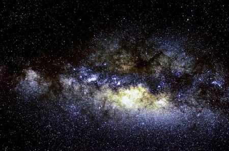 星と銀河の宇宙空夜背景、アフリカ、ケニア
