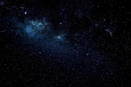 Stars and galaxy space sky night background, Africa, Kenya
