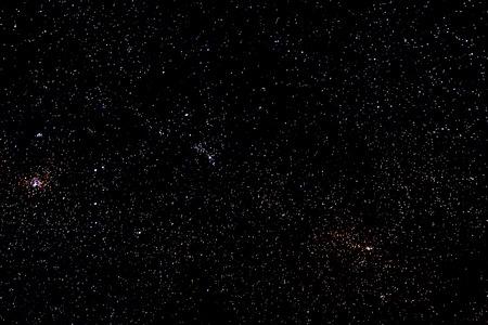 Stars et galaxie ciel espace nuit étoilée fond