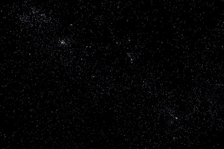 Stars and galaxy space sky starry night background Imagens