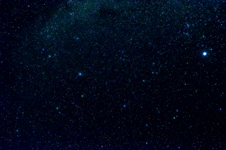 Stars and galaxy outer space sky night universe background Foto de archivo