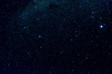 Stars and galaxy buitenste hemel ruimte nacht universe achtergrond