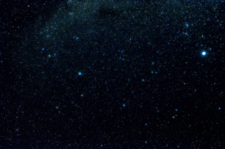 Stars and galaxy outer space sky night universe black background Stock Photo