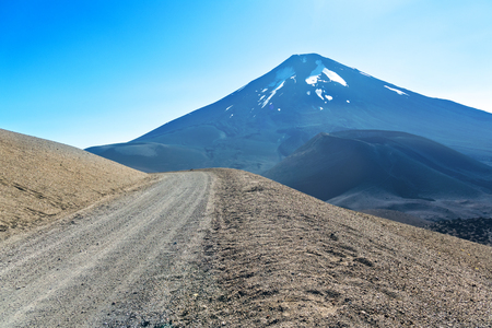Beautiful Andes mountains landscape, Araucania district, Lonquimay volcano, Callaqui, Chile, South America