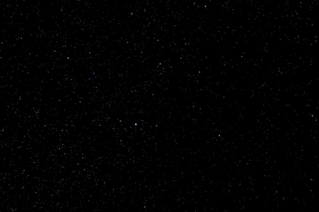 Stars and galaxy outer space sky night universe black starry background of shiny starfield Stock Photo