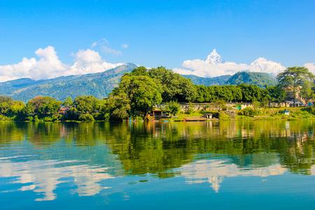 ネパールの風景 写真素材