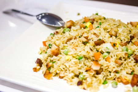 multiple objects: Fried rice