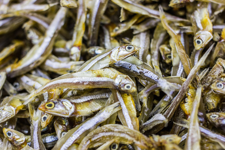 multiple objects: Dried fish