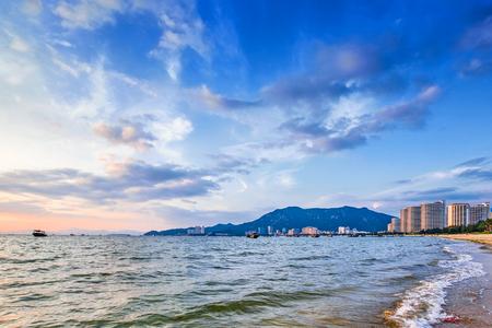 natural scenery: Huizhou beach natural scenery