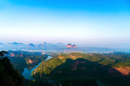 Danxia natural scenery