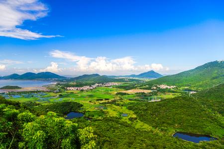 Island natural scenery
