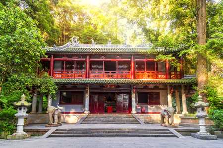 Nanhua temple at Shaoguan, Guangdong.