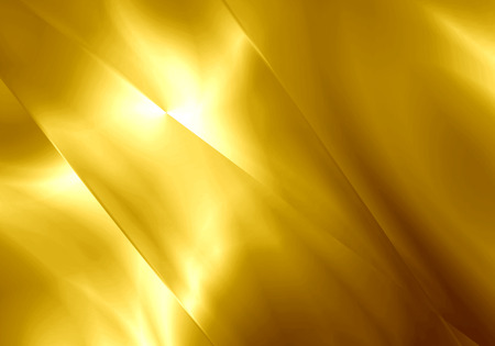 Abstract light shape gold color background.