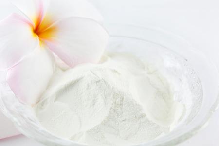 Collagen powder.