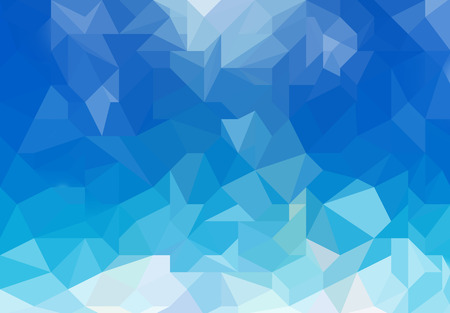 Blue light abstract geometric background texture.