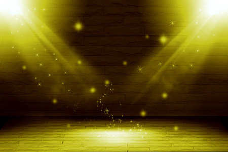 the light rays: Abstract two light gold background : fill object. Stock Photo