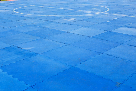 Matt rubber foam floor fighting sport for safety.