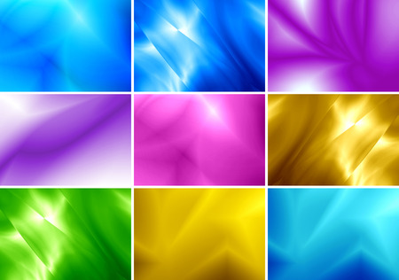 coloful: Abstract background coloful Collection set. Stock Photo