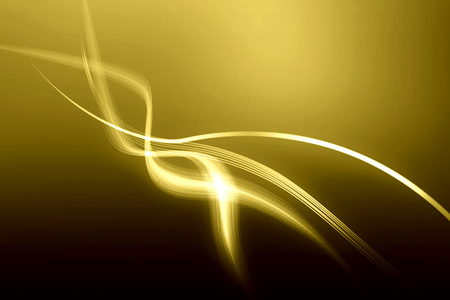 curve line: Abstract line curve golden color background texture.