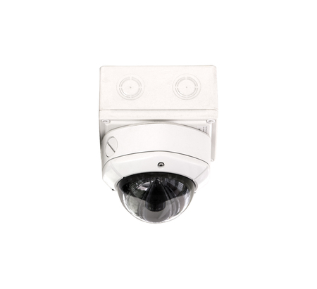 cctv security: CCTV security isolated white background.