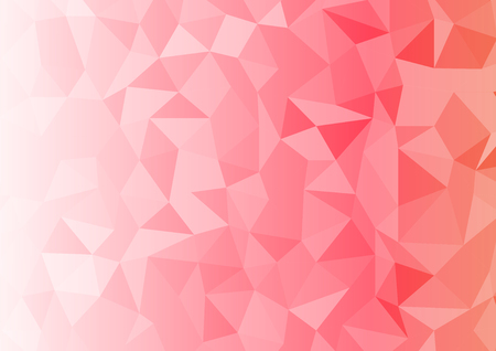 graphic elements: Geometrix red abstract rectangle background.