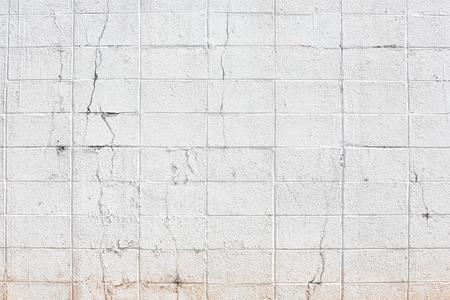 stonework: Wall blick white texture on background. Stock Photo