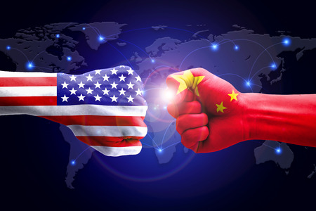 competitors: USA and China against competitors of world business.
