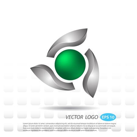 serrated: Vector logo Business new design futuristic.
