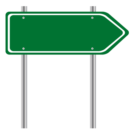 Vector illustrator, Sign post.