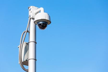 CCTV security ourdoor on the sky.