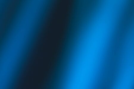 Close-up of Theater blue curtain with spot lighting.