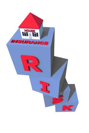 house insurance concept Stock Photo - 5909039