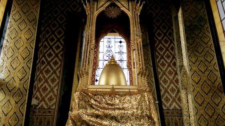 gold metal: Pagoda Summit Gold metal castleOnly the World ,Bangkok.Thailand